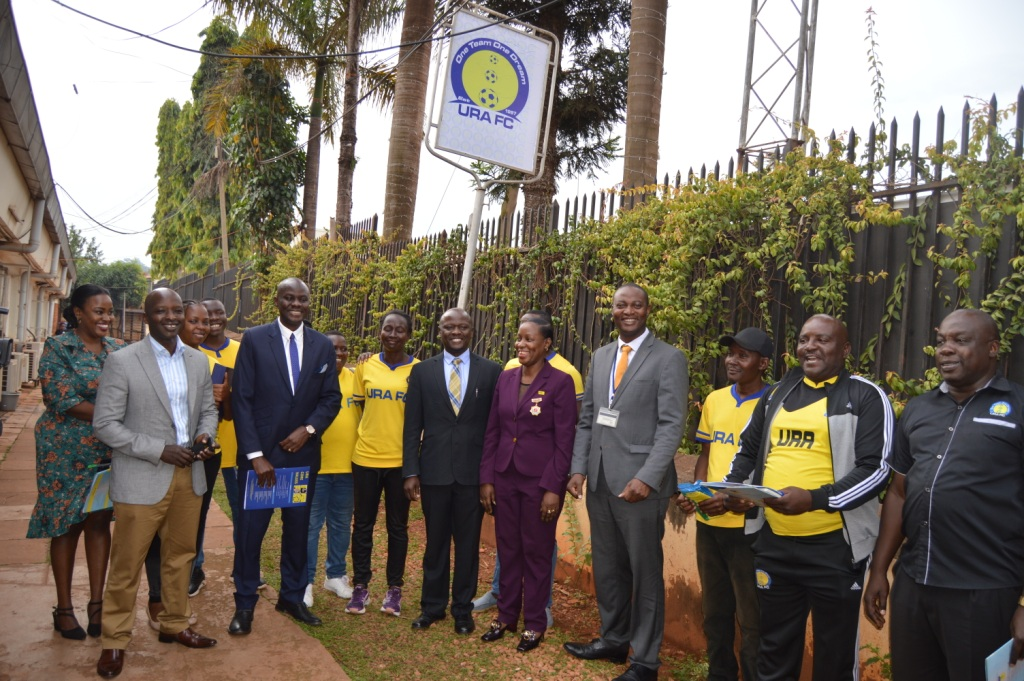 uganda revenue authority football club launches secretariate florence nakiwala kiyingi