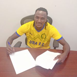 Birungi Michael completes move to URA FC.