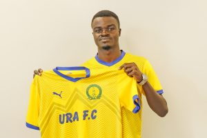 Nunda Jackson completes URA FC move.