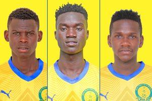 Three academy players graduate to the senior team.