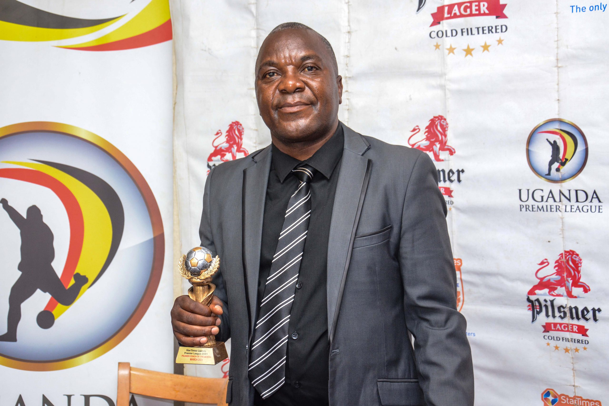 URA FC head coach named the Pilsner coach of the Month.