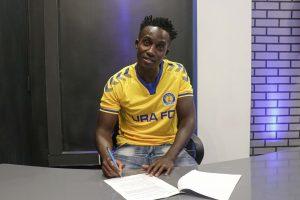 Julius Mutyaba renews contract with URA